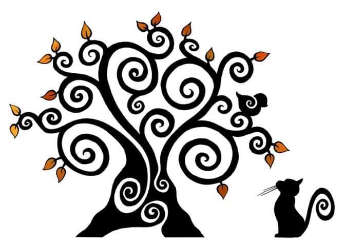 L'arbre de vie du chat