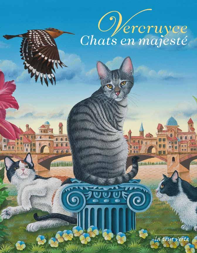 Chats en majesté - Couverture