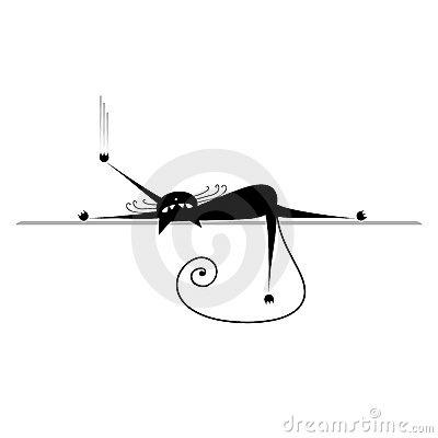 dtendez-silhouette-de-chat-noir-11856478